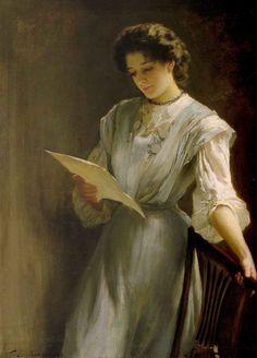 "Thomas Benjamin Kennington: ""Reading the Letter"""