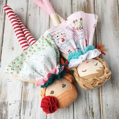 Vintage Market Collection Rag Dolls made by SpunCandy
