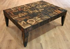 I want this coffee table!!!