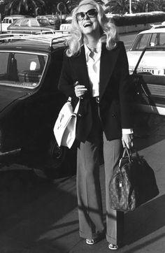 French Style Inspiration: Catherine Deneuve - The sophisticated traveler