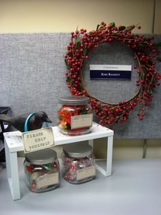 shaken together create this crafty cubicle makeover with tons of diy tutorials - Office Cubicle Decor