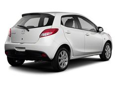 John_Hine_Mazda_San Diego_Car Dealerships_2012_MAZDA2 Sport Hatchback_White_Rear Side
