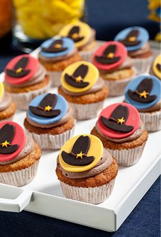 Petit Gateau's wild west cupcakes. Photo by Boaz Lavi