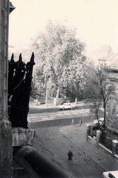 1985. Thököly út - Ilka utca sarok a Thököly út 79-ből Utca, Budapest Hungary, Old Pictures, Historical Photos, Culture, History, Travel, Outdoor, Historical Pictures