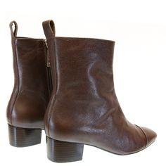 Bota Cano Curto Val Ferret Castanho VF1 Sapri by Moselle | Moselle sapatos finos femininos! Moselle sua boutique online.