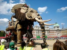 Another amazing puppet by Royal De Luxe - The Sultan's Elephant