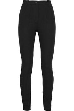 Skinny Pant: Topshop Unique Maida stretch-cotton twill skinny pants / Garance Doré