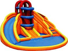 Big Blue Lagoon Inflatable Water Slide -- You can get more details by clicking on the image.Note:It is affiliate link to Amazon. #WaterPoolKids