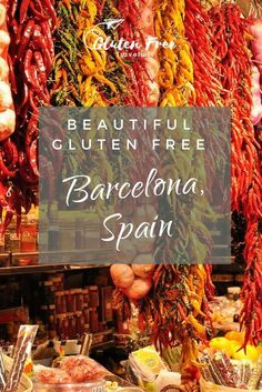 Gluten Free Barcelona, Spain – Gluten Free Travellers Travelling in Spain has certainly opened up my eyes to just how 'common' gluten free diets have become – thankfully for us, this is a good thing! Barcelona Travel Guide, Barcelona Food, Portugal Vacation, Gluten Free Restaurants, Gluten Free Living, Gluten Free Diet, Spain And Portugal, Health And Wellbeing, Free Food