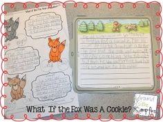 Writing during our gingerbread unit