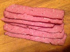 Smoked Venison Bacon