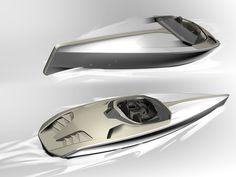Peugeot Concept Powerboat - Design Sketches