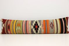 IN LOVE with this handmade long Bedding Pillow Cover  12 x 47 by kilimwarehouse