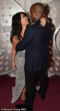 Kim Kardashian shows off incredible for the GQ Men Of The Year Awards #dailymail