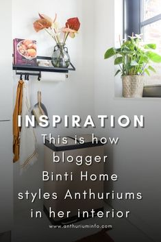 Blogger Souraya has been running Binti Home Blog for more than ten years now. It's her personal interior platform, where she shares all her knowledge, expertise and inspiration in the field of interior design, furnishing and styling. She has a beautiful Scandinavian interior style with Arabic accents. We asked her to style the Anthurium in her interior, and the result is fantastic! Get ready for a lot of interior inspiration by Binti Home! Interior Styling, Interior Design, Valentines Flowers, Vintage Closet, Perfect Plants, Green Kitchen, Home Photo, Scandinavian Interior, Wall Hanger