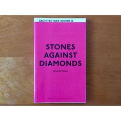 "103 Likes, 3 Comments - @makearchitecturebooksagain on Instagram: ""Stones Against Diamonds - Lina Bo Bardi. 2013, AA Publications, Paperback. Collection of critical…"""