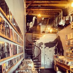 Origami Vinyl record store in Los Angeles, CA. I played up there!