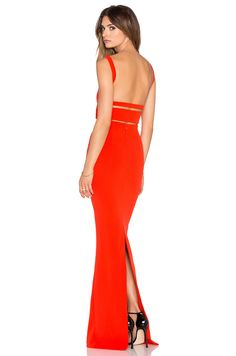 Solace London Crockett Maxi Dress in Red = $283.89 (revolve)