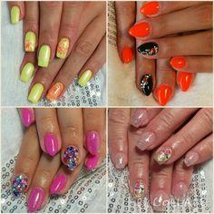 Summer Nails - garish neons, soft vintage or gems and rhinestones? :)
