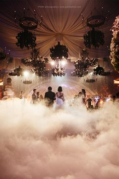 Gorgeous dreamy wedding see more httpbridestoryblog every time we catch a glimpse of weddings decorated with crystals and chandeliers our hearts surabayawedding ceremonywedding decorationsfairy junglespirit Image collections