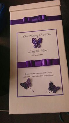 My post box for wedding cards x