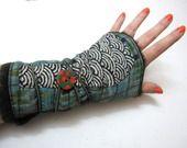 mitaines la soeur de Christel 21 : Mitaines, gants par la-soeur-de-christel