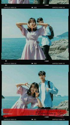 Korean Drama Stars, Korean Drama Movies, Korean Actors, Bts Aesthetic Pictures, Couple Aesthetic, Web Drama, Park Bo Young, Korean Couple, Ulzzang Couple