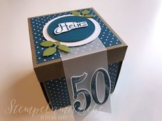 Discover recipes, home ideas, style inspiration and other ideas to try. Balloon Box, Envelope, Scrapbooking, Exploding Boxes, Image Notes, Marianne Design, 50th Birthday, Stampin Up, Diy And Crafts