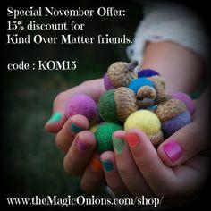 Sponsor Love : The Magic Onions Shop!  #discount #code #christmas #coupon
