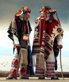 Dancers for the Danza de Los Viejitos. The Danza de los Viejitos (dance of the old men) is a traditonal folk dance in Michoacán, Mexico.
