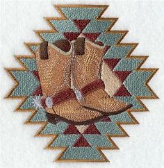 Machine Embroidery Designs at Embroidery Library! - Western