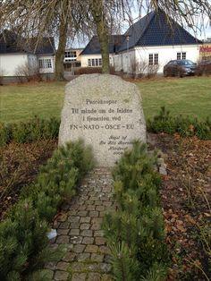 Mindesten for Peacekeepers i Holstebro