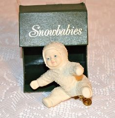 Snowbabies Christmas Ornament Department 56 Christmas by WVpickin