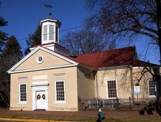 St Mary's Episcopal Church in Burlington NJ. Oldest church in NJ (1703).