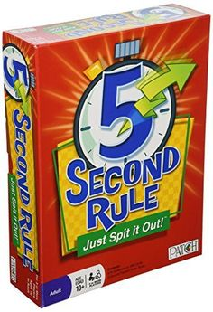 5 Second Rule - Just Spit it Out! PlayMonster