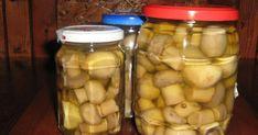 Caesar Pasta Salads, Caesar Salad, Marinated Mushrooms, Stuffed Mushrooms, I Want To Eat, Pickles, Barbecue, Cucumber, Menu