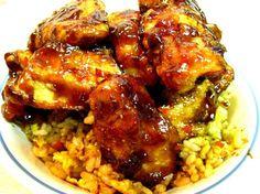 Křupavé chilli-česneková-hoisin kuře