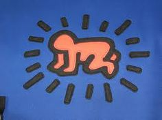radiant baby keith haring - Google Search.