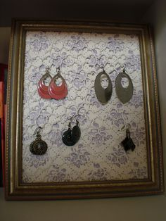 Ravelry: sarahjls Earring Frame
