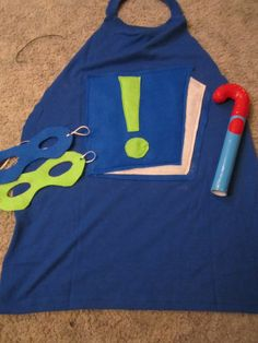 My Crazy Life...: DIY Super Why Gear