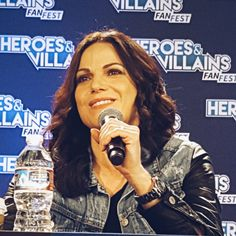 Lana Parrilla's panel at Heroes and Villains Fan Fest - 21 and 22 November 2015