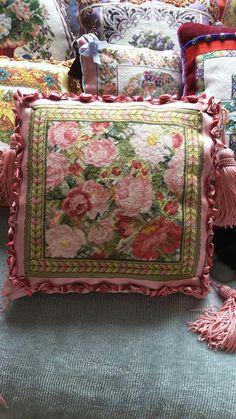 My needlepoint cushion