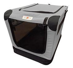 ASPCA Soft Crate, Large, Gray -- Continue @
