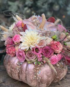 Beautiful Flower Arrangements, Floral Arrangements, Beautiful Flowers, Flowers Gif, Happy Flowers, Iphone Wallpaper Vintage Retro, Pink Photography, Pumpkin Art, Garden Shop