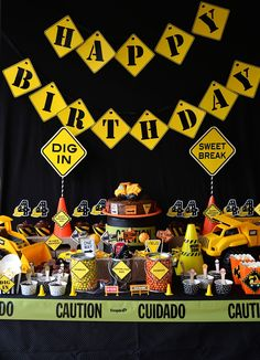 What a FUN PARTY I have to share today! This CONSTRUCTION PARTY  is truly one of my FAVORITE PARTY SETS. It has absolutely everything yo...