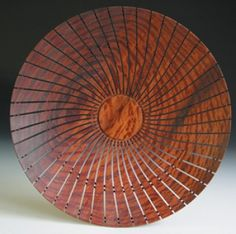 Untitled Bowl, 2004  By Harvey Fein  Madrone Burl wood
