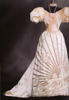 Evening dress by Worth, c. 1894