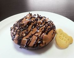 チョコミントマシュマロタルト