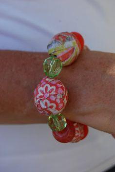 Decoupage Beads