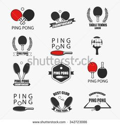 Find Ping Pong Logotype Ping Pong Icon stock images in HD and millions of other royalty-free stock photos, illustrations and vectors in the Shutterstock collection. Table Tennis Bats, Ping Pong Table Tennis, Design Tattoo, Logo Design, Tennis Drawing, Tennis Posters, Tennis Serve, Sports Drawings, Tattoo